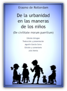 ERASMO, De la Urbanidad en las maneras de los niños